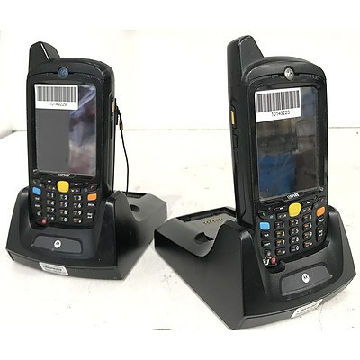 Motorola MC659b Handheld Mobile Computers - Lot of 22