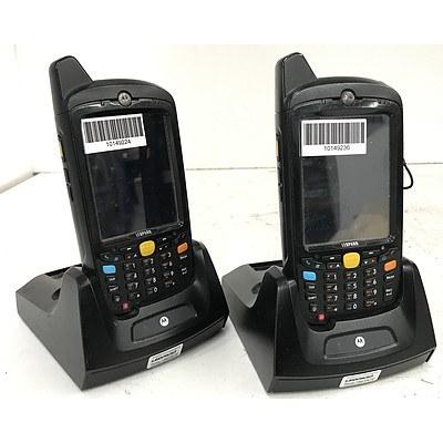 Motorola MC659b Handheld Mobile Computers - Lot of 24
