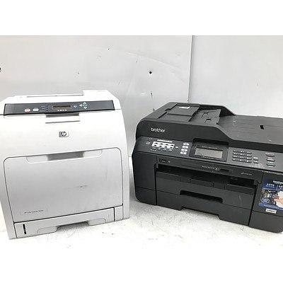 Bulk Lot of Colour and Black & White A4 Printers