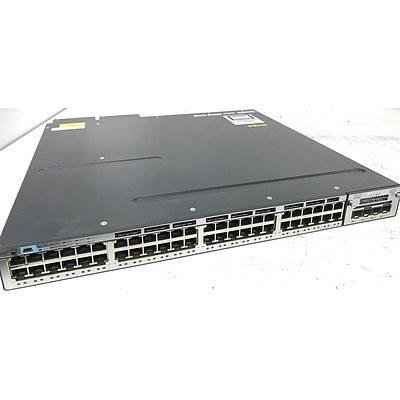 Cisco WS-C3750X-48PF-S V06 Gigabit Switch