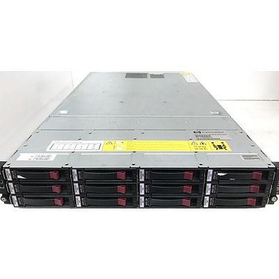 Hp P4500 AMD Quad-Core Opteron 2376 2.30GHz 2 RU 12-Bay SAS Storage System with 4.05TB