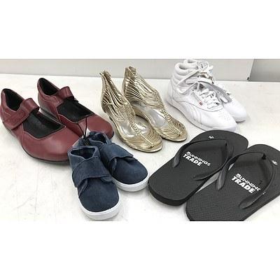 Bulk Lot of Brand New Women's, Men's & Children's Shoes- RRP Over $900