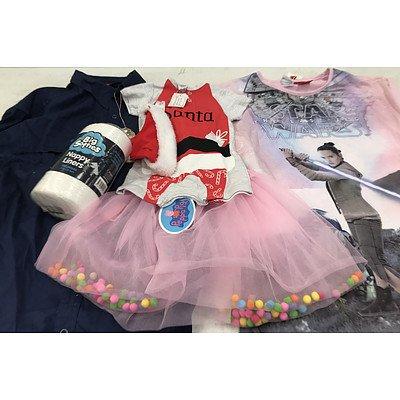 Bulk Lot of Brand New Women's, Men's & Children's Clothing - RRP Over $300