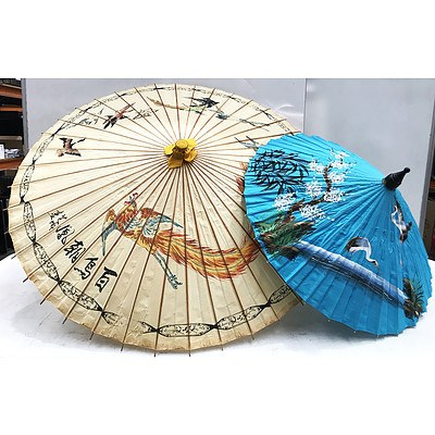 Two Chinese Style Umbrellas