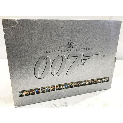 James Bond 007 - The Ultimate Collection DVD Box Set