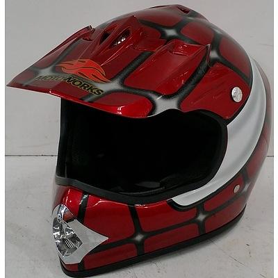 Motoworks Motorcycle Helmet