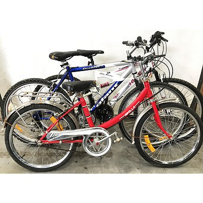 Mountain Bikes - Lot of 3