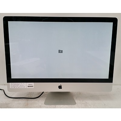 Apple (A1312) Core i5 (760) 2.80GHz 27-Inch iMac Computer