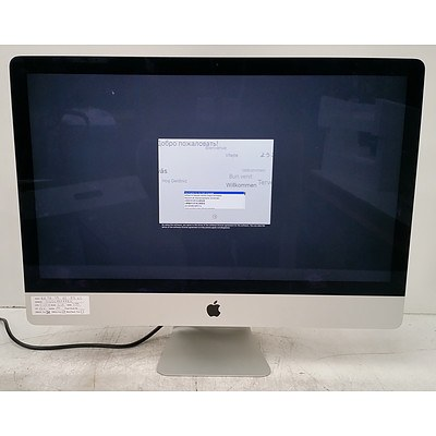 Apple (A1419) Core i7 (4771) 3.50GHz 27-Inch iMac Computer