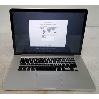 Apple (A1398) 15-Inch Core i7 (4870HQ) 2.50GHz MacBook Pro