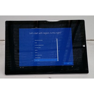 Microsoft Surface (1631) Pro 3 12-Inch 128GB Core i5 (4300U) 1.90GHz 2-in-1 Detachable Laptop