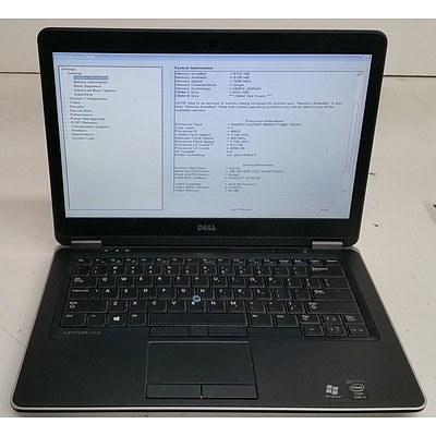 Dell Latitude E7440 14-Inch Core i7 (4600U) 2.10GHz Laptop