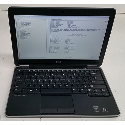 Dell Latitude E7240 12.5-Inch Core i7 (4600U) 2.10GHz Laptop