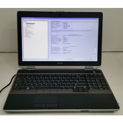 Dell Latitude E6520 15.6-Inch Core i7 (2640M) 2.80GHz Laptop