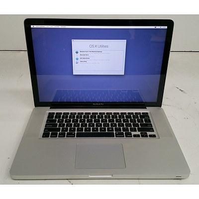 Apple (A1286) 15-Inch Core 2 Duo (P8700) 2.53GHz MacBook Pro