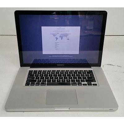 Apple (A1286) 15-Inch Core i7 (3615QM) 2.30GHz MacBook Pro