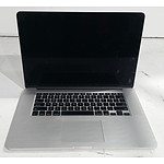 Apple (A1398) 15-Inch Core i7 (4870HQ) 2.50GHz MacBook Pro