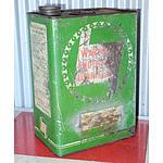 Vintage Wakefields Industrial Lubricants 1 Gallon Drum