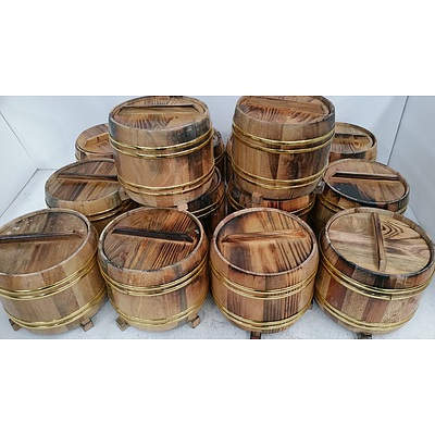 Rice Serving Buckets - Lot of 14