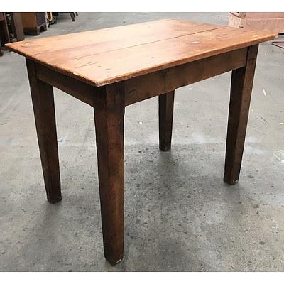 Antique Baltic Pine Farmhouse Table