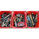 Selection of Woodworking, Automotive and Garden Tools