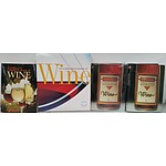 Wine Reference Books - Lot of Four