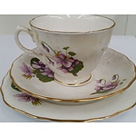 Vintage Royal Osborne Fine Bone China Tea Setting