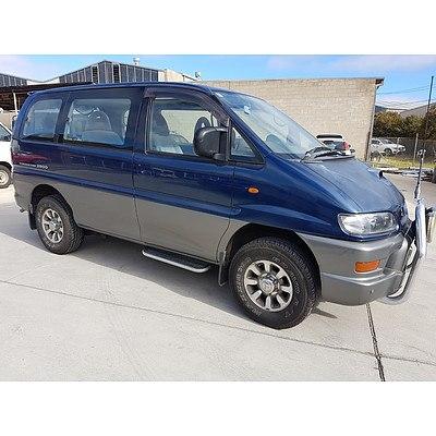 11/1998 Mitsubishi Delica Space Gear Van Blue 2.8L