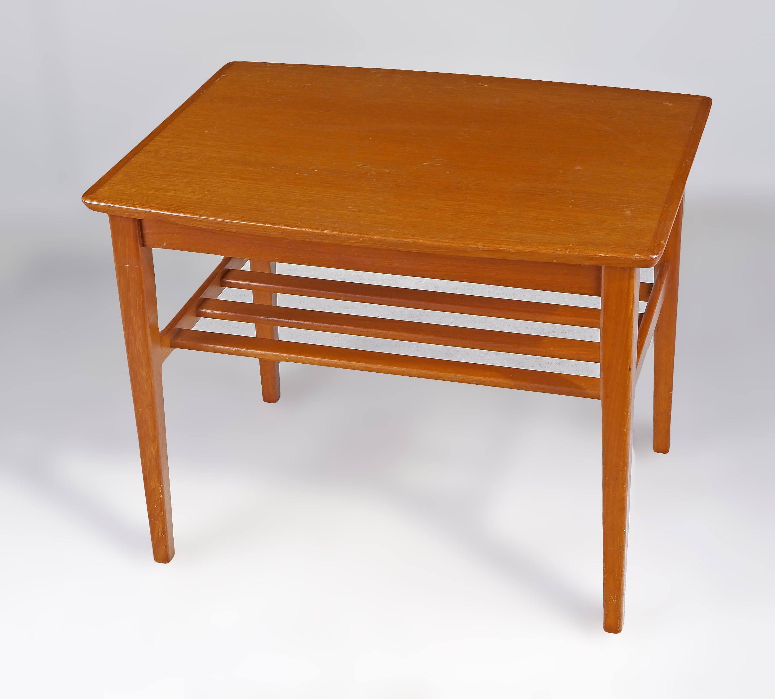 '1960s Teak Lamp Table'