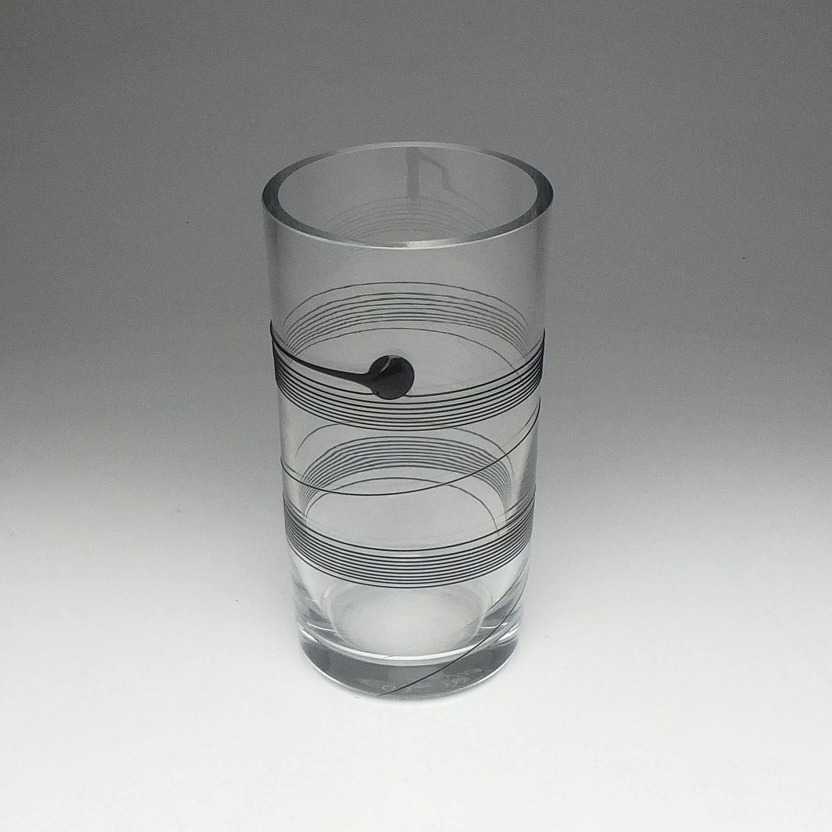 'Bertil Vallien (1936-) Kosta Boda Art Glass Vase'