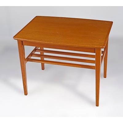 1960s Teak Lamp Table