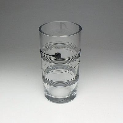 Bertil Vallien (1936-) Kosta Boda Art Glass Vase