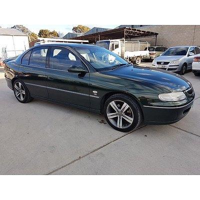 3/2000 Holden Berlina  VTII 4d Sedan Green 3.8L