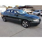 3/2000 Holden Berlina  VTII 4d Sedan Green 3.8L