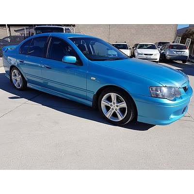 11/2004 Ford Falcon XR6T BA MKII 4d Sedan Blue 4.0L