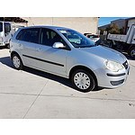 4/2006 Volkswagen Polo TDI 9N MY06 UPGRADE 5d Hatchback Silver 1.9L