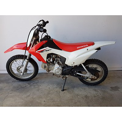 2014 Honda CRF110 110cc Trail Bike