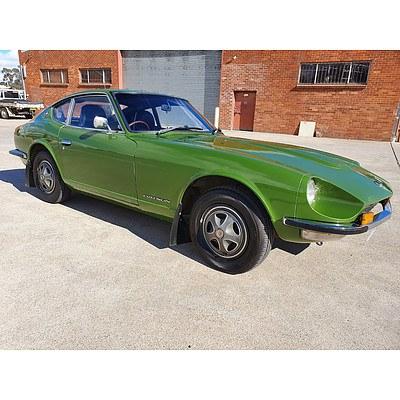 11/1972 Datsun 240Z Coupe Green 2.4L