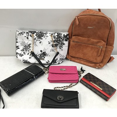 Bulk Lot of Brand New Handbags Purses & Bags - RRP Over $500