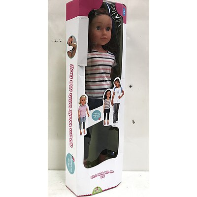 Dolls 80cm Walk with Me Doll