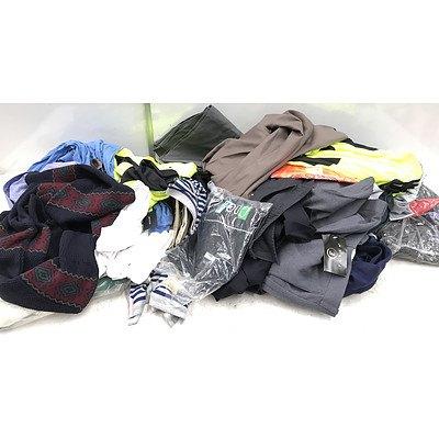 Bulk Lot of Brand New Men's Clothing - RRP Over $300