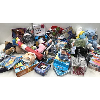Bulk Lot of Brand New Kid's Toys, Sporting Goods, Clothes & Decor