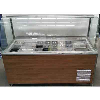Williams Stainless Steel Refrigerated Sandwich Bar