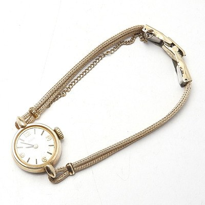 Rolled Gold Tudor Ladies Watch