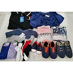 Adult/Children's Clothing and Footwear - Lot of 18 - New