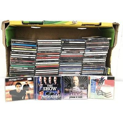 Bulk Lot of CD Music  - Approximately 120