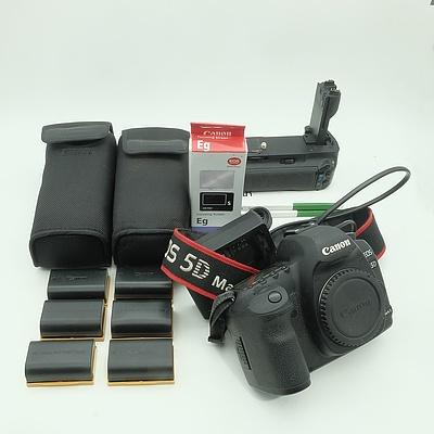 Canon EOS 5D Mark II Camera, Two Canon Speedlite 580EX II Flash and More