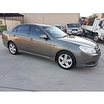 6/2007 Holden Epica CDXi EP MY08 4d Sedan Grey 2.5L