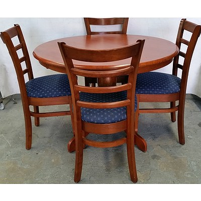 Mapleton Five Piece Dining Setting