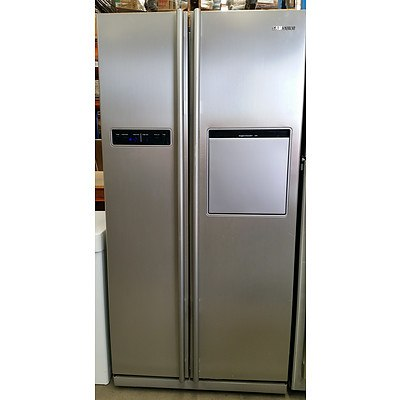 Samsung 540 Litre Side-by-Side Stainless Steel Fridge-Freezer